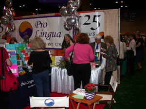 The Pro Lingua founders celebrated 25 years in the TESOL printing business