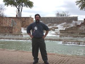 Robb Scott, ESL MiniConference Editor, at TESOL 2005 in San Antonio