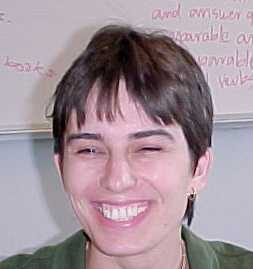 Ilona Vinklerova, ESL teacher
